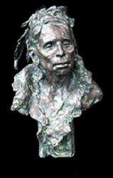 Linda West Sculpture, Two Feathers